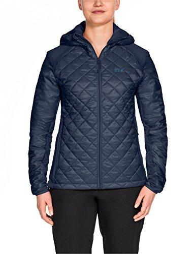 Tundra Insulated Jacket (Jack Wolfskin Women's ICY Tundra Coat, Midnight Blue, X-Small)