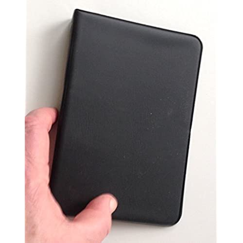 """Little Black 6-Ring Binder with 3-1//2/"""" x 6/"""" Pack of 100 Blank Sheets 4 PACK"""