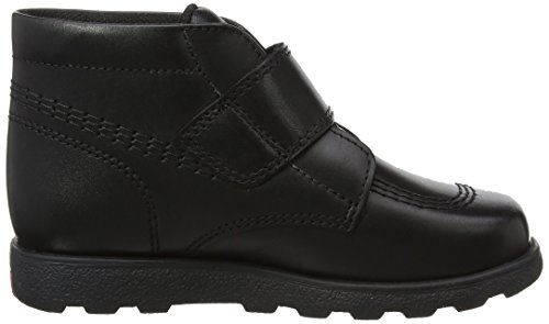 Kickers Unisex-Kinder Fragma Strap Leather Boots Shoes Stiefel Schwarz (Black)