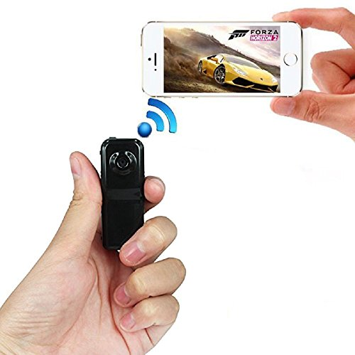 Jiusion 680 x 480P Portable Wireless IP Wi-Fi Spy Camera Hidden Recorder Security Surveillance for iPhone Android