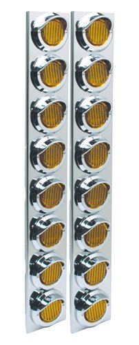 RoadPro RPSL28LED Posi-View LED SS Air Cleaner Sealed Light Assembly - 2 Pack by RoadPro