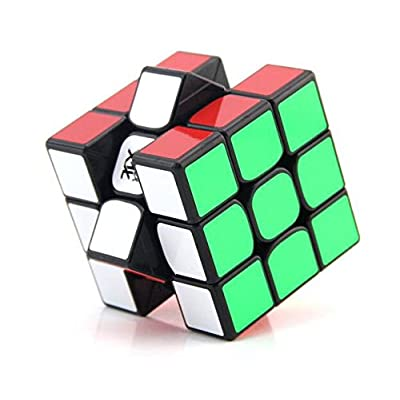 cuberspeed MoYu WeiLong GTS2 Black 3x3 Magic Cube MoYu WeiLong GTS V2 3x3x3 Speed Cube Puzzle: Toys & Games