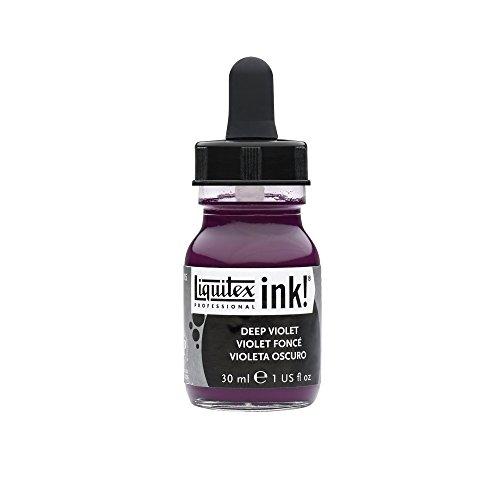 Liquitex Professional Acrylic INK! 1-oz Jar,  Deep (Acrylic Deep Violet)