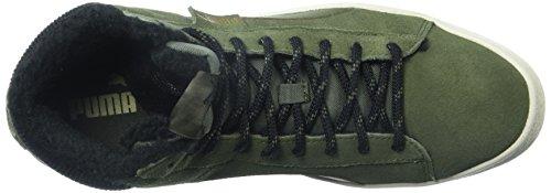 Puma Mens 1948 Mitten Mocka Höjd Topp Snörning Mode Sneakers Olivnattoliv Night