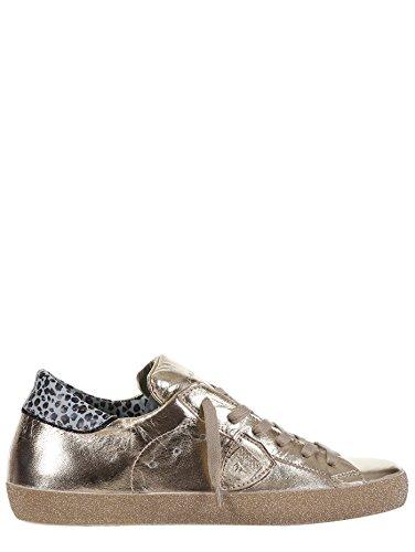 Philippe Model - Zapatillas de Piel para mujer dorado dorado
