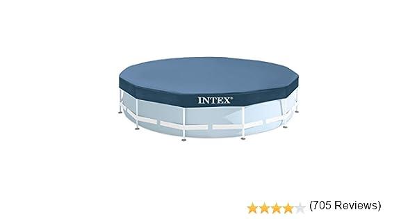 Intex 28032 - Cobertor piscina metálica Metal & Prisma Frame 457 ...