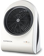 Kambrook Upright Basic Fan Heater White , Off White - KFH310WHT