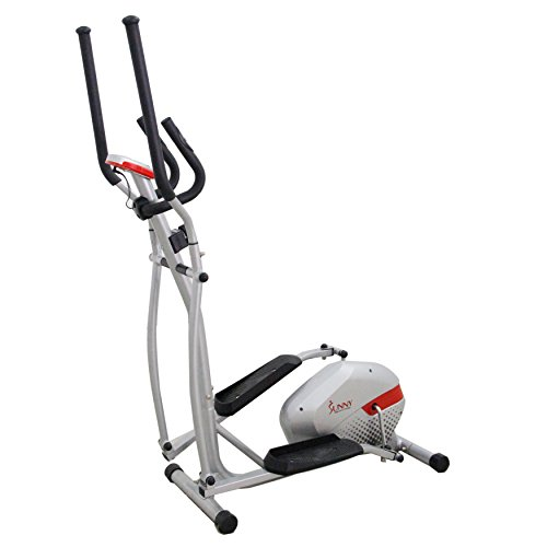 Sunny Health & Fitness SF E3416 Magnetic Elliptical Trainer, Gray