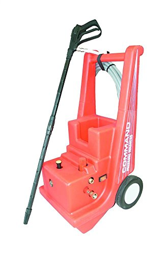 Cam Spray C1000E Molded Cart Electric Powered Cold Water Pressure Washer, 1000 psi, 25' Hose by Cam Spray