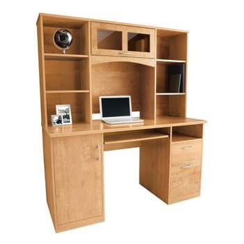 Enjoyable Landon Desk With Hutch Oak Download Free Architecture Designs Scobabritishbridgeorg