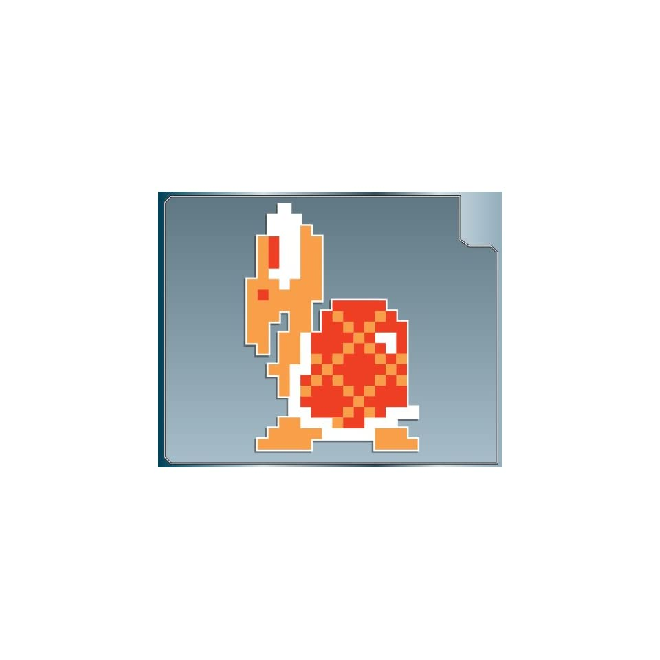 KOOPA TROOPA in Red 8 bit from Super Mario Bros. vinyl decal sticker