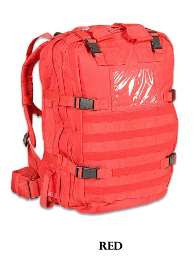 Amazon.com: Elite First Aid Stomp Medical Kit - Red: Sports ...