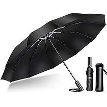 【2020年強化版 12本骨】 折りたたみ傘 自動開閉 軽量 折り畳み傘 メンズ 大きい 晴雨兼用 台風対応 ...