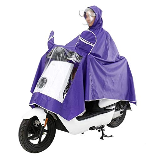 Color Eléctrico Coche Lluvia Al Aire Sombrero De Impermeable Desmontable Capucha Gruesa Casuales Moda Poncho 2 Sólido Mujeres Con Libre xwS71Sqd
