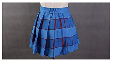 WOTOGOLD Love Live Cosplay Costume Student Uniform Summer 14 Style Pleated Skirt