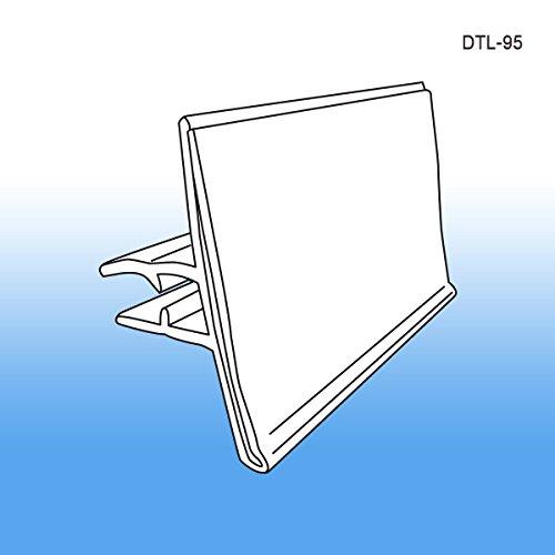 Data-Tag™ Label Holder for Scan Plates on Display Hooks, DTL-95, Pack of 25 Scan Hook