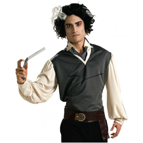Sweeney Todd Belt with Straight (Sweeney Todd Costumes Kit)