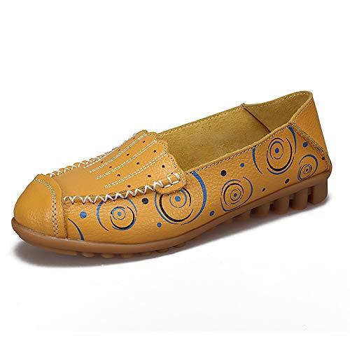 Taille Chaussures ZHRUI coloré 38 Jaune Blanc EU rrzwdntqx