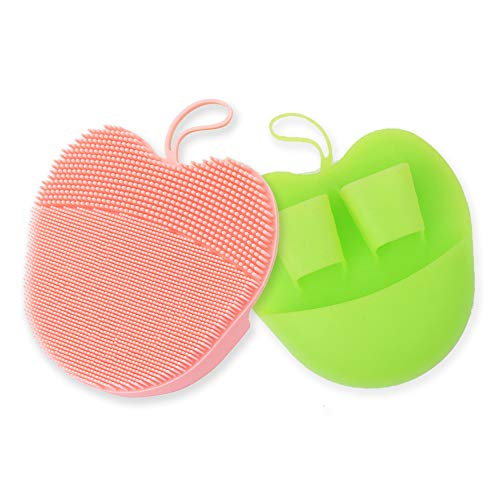 pink face scrubber - 2