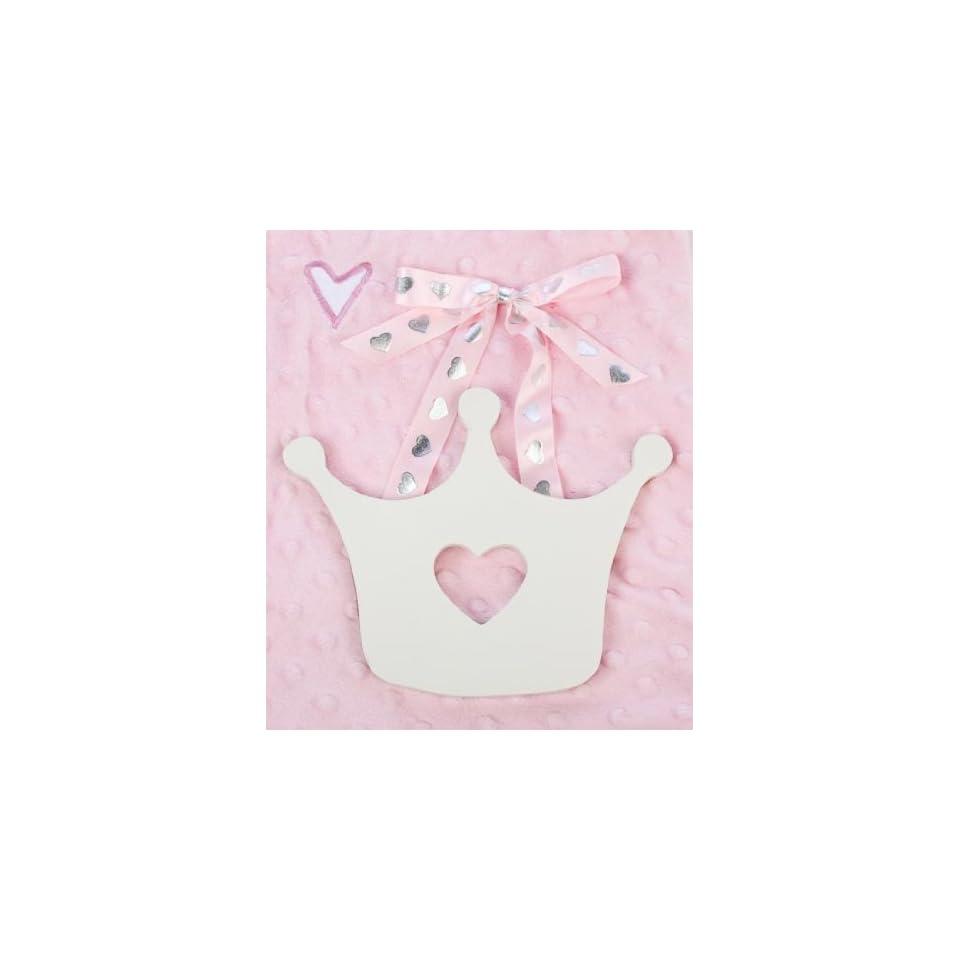 Pink Star Ribbon Hanger Nursery Decor or Baby Shower Decoration Baby