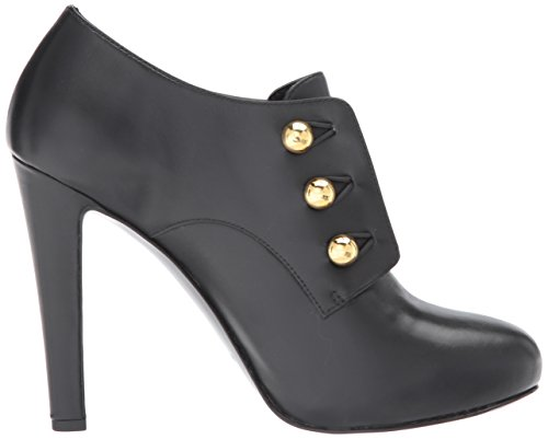 Nine West Boot Ankle Black Leather BRIANNY Women's wBzqwa0