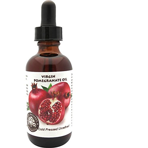 Pomegranate Seed Oil - Virgin (Cold Pressed, Unrefined) for age related skin issues, revitalize dull or mature skin, cell regeneration 1 oz (30ml)