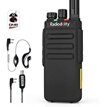 Radioddity GD-77S DMR Dual Band Two Way Radio Digital/Analog 136-174/400-470MHz Walkie Talkie 1024CH, Voice Prompt, For Commercial Use