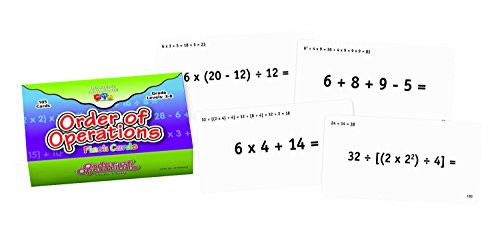 Learning Advantage 8691 Order of Operations Flash Cards