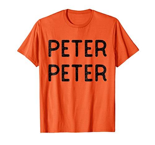 Mens Peter Peter Pumpkin Eater Halloween Couples Costume Shirt ()