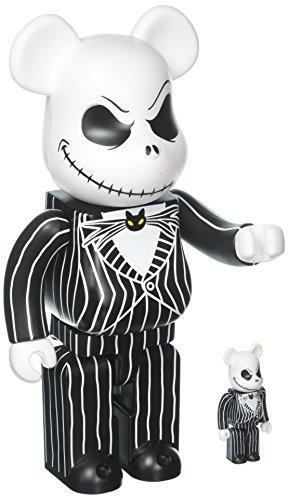 Medicom Disney's The Nightmare Before Christmas: Jack Skellington 400% & 100% Bearbrick Figure 2 Pack for $<!--$199.99-->