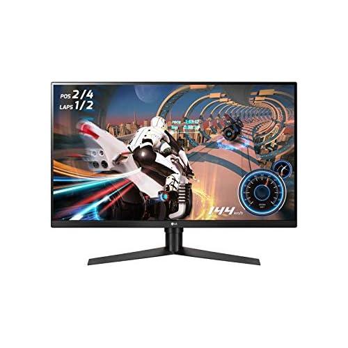 chollos oferta descuentos barato LG 32GK650F B Monitor Gaming QHD de 80 cm 31 5 con Panel VA 2560 x 1440 píxeles 16 9 1 ms con MBR 144Hz 350 cd m 3000 1 NTSC 72 Color Negro y Rojo