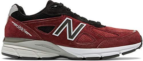 (New Balance Men's 990v4, Red, 8 D US)