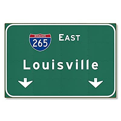 I-265 Interstate Louisville Kentucky ky METAL Highway Freeway Sign : Novelty Reproduction Wall Decor Art :: STEEL :: not tin 36x24 [AYY073]