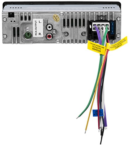BOSS Audio 616UAB Single Din, Bluetooth, MP3/USB/SD AM/FM