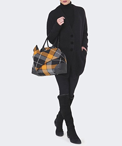 CARDIGAN LUNGO HIGH DONNA COMPLY NERO, Donna.