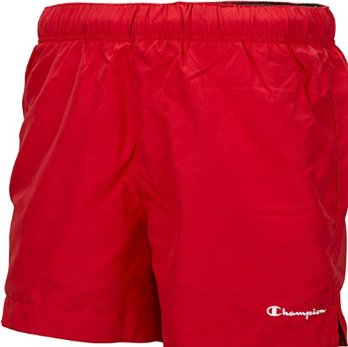 Champion Classic Mens Swim Shorts - Red-L