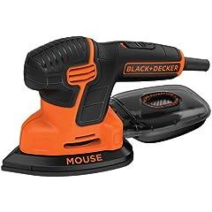 Product Image: BLACK+DECKER Mouse Detail Sander, Compact Detail (BDEMS600)