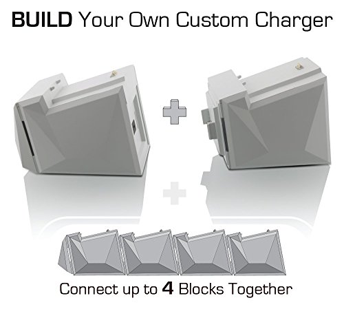 Amazon nyko charge block duo battery charger white xbox one amazon nyko charge block duo battery charger white xbox one video games ccuart Image collections