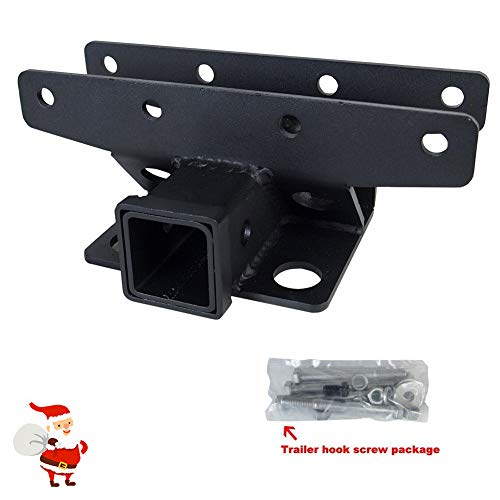 LITE-WAY Liteway 2'' Towing Rear Wrangler Trailer Receiver Hitch 07-16 Jeep JK 2 Door & 4 ()