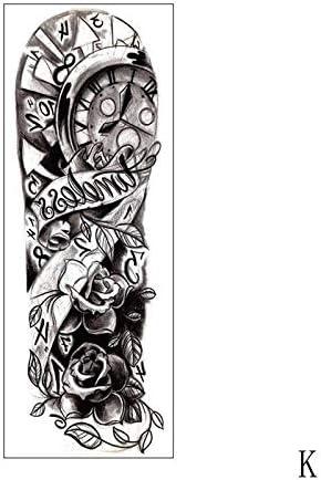 Zhuhuimin 3 unids Impermeable Etiqueta Engomada del Tatuaje Reloj ...