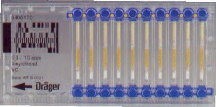 Draeger 6406030 CMS Chip, Benzene, 0.2-10 ppm, 700-1100