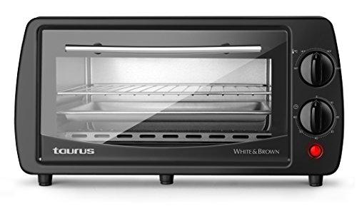 Taurus Horizon 9 - Horno de sobremesa, capacidad 9 L y temporizador de 60 min, 800 W: Amazon.es: Hogar