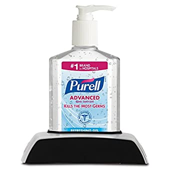 PURELL 9614-12 Instant Hand Sanitizer with Classic Holder, 8 oz (Case of 12)