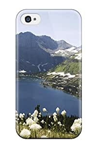 Best Fashionable Style Case Cover Skin For Iphone 4/4s- Glacier National Park 1455210K89653869