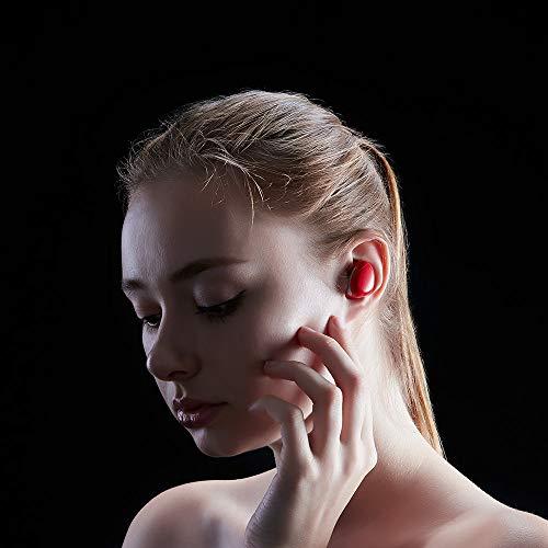 Auriculares Inalámbricos Bluetooth, Auriculares Inalámbricos Duales Bluetooth Auriculares Mini Estéreo Bluetooth Headset Incorporado Micrófono De Carga Caso ...