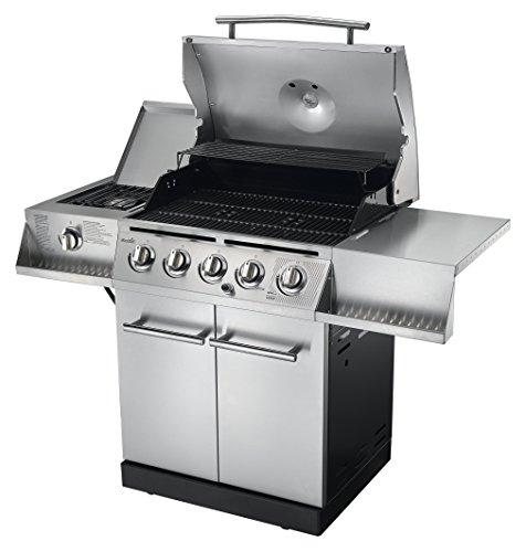 char broil 500 5 burner cabinet gas grill gas barbeque reviews. Black Bedroom Furniture Sets. Home Design Ideas