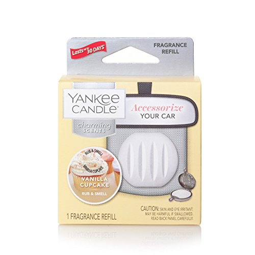(Yankee Candle Charming Scents Car Air Freshener Refill, Vanilla)
