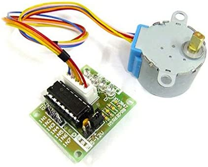 DT ZHONGJIUYUAN 5sets MCU DIY 4 Phase 5 Wires Stepper Motor 5V with UL2003 Driver Board 28mm x 20mm