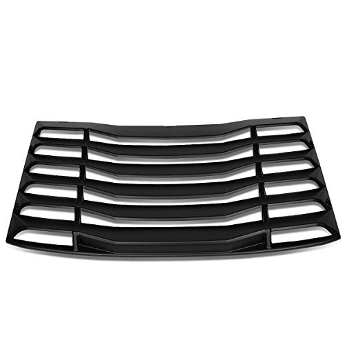 DNA Motoring ZTL-Y-0033 Rear Window Vent Louver Windshield Sun Shade Cover Assembly (Rear Window Vent)