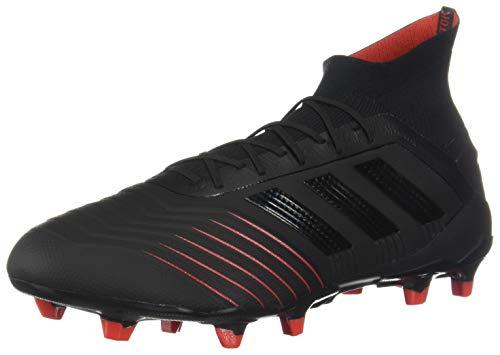 finest selection d0534 12a05 Adidas Men s Predator 19.1 FG Athletic Shoes, Core Black Core Black Active  Red